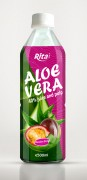 Aloe vera with passion fruit juice 500ml Pet bottle