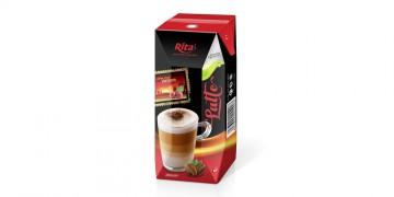 Cafe from VietNam in Tetra pak 200ml