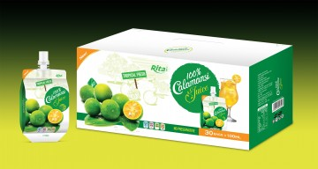 Calamansi juice drink 100ml per pouch