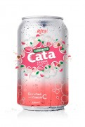 Carbonated Natural Lychee Flavor Drink