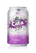 Carbonated Natural Mangosteen Flavor Drink