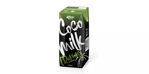 Coco Milk with durian in prisma pak 200ml