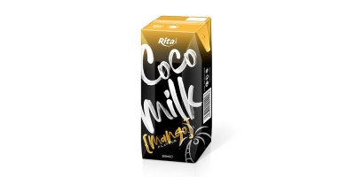 Coco Milk with mango in prisma pak 200ml