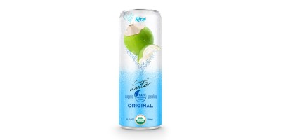 Coco Organic Sparkling 320ml can 01