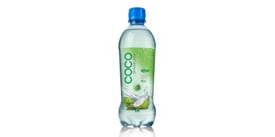 Coco Sparkling kiwi flavour 450ml Pet bottle
