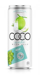 Coco water with pulp 330ml original
