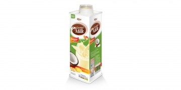Coconut milk banana 600ml 4