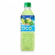 Coconut water with lime flavor  500ml Pet bottle 2