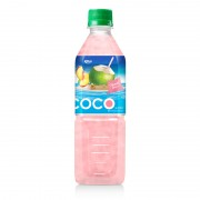 Coconut water with peach flavor  500ml Pet bottle 2