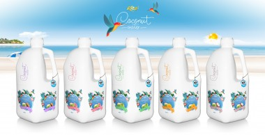 Design Bottle PP 2L Coconut water 02
