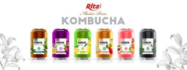 Design Kombucha 330ml can