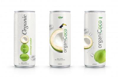 Design Organic-Coconut-water 250ml