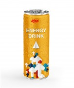 Energy drink 250ml aluminum canned