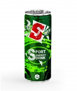 Energy drink 250ml aluminum canned  5