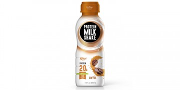 Juice bottles  Protein milk shake with cofee