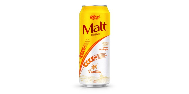 Malt drink vanilla 500ml