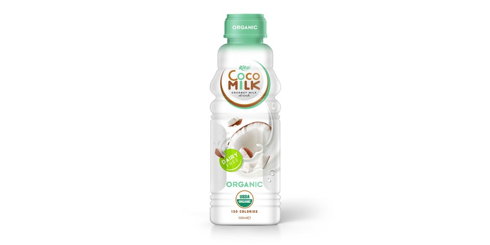 Manufacturing Suppliers Organic Coco milk 500ml PP
