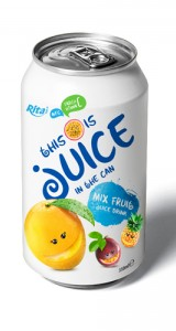 Manufacturing Suppliers mix fruit  juice 330ml