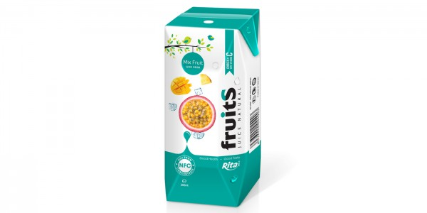 Mix fruit juice Prisma Tetra pak 200ml