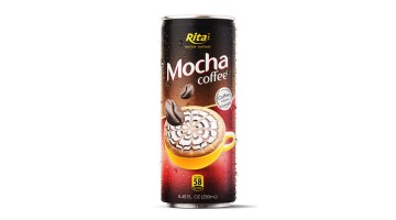 Mocha coffee 250ml can