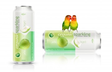 Organic-Sparkling-Coconut-water 500ml
