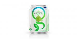 Organic Coconut water 250ml short can