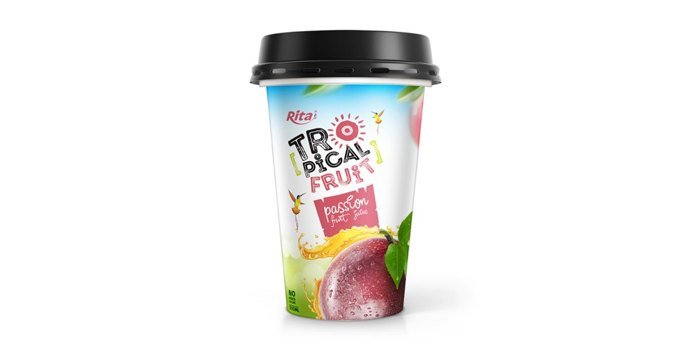 PP cup 330ml fruit pasion juice