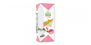 Paper box 200ml Coco nut with strawberry