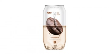 Pet can 350ml Sparkling drink with coffee flavor rita