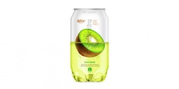 Pet can 350ml Sparkling drink with kiwi flavor rita