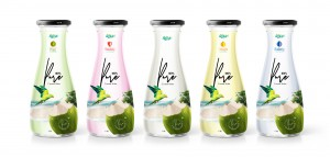 Poster Coco 1L Glass bottle 02