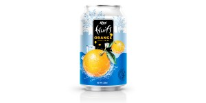 Private label products Orange juice 330ml