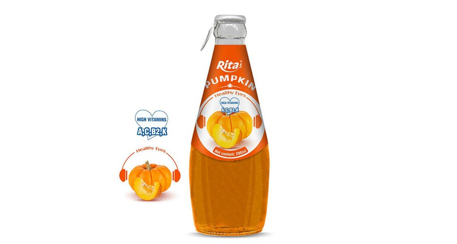 Pumpkin 290ml glass
