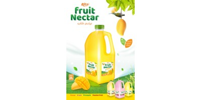 Rita Fruit Nectar 2L with mango flavor