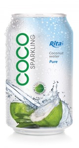 Sparking Coconut water 330ml