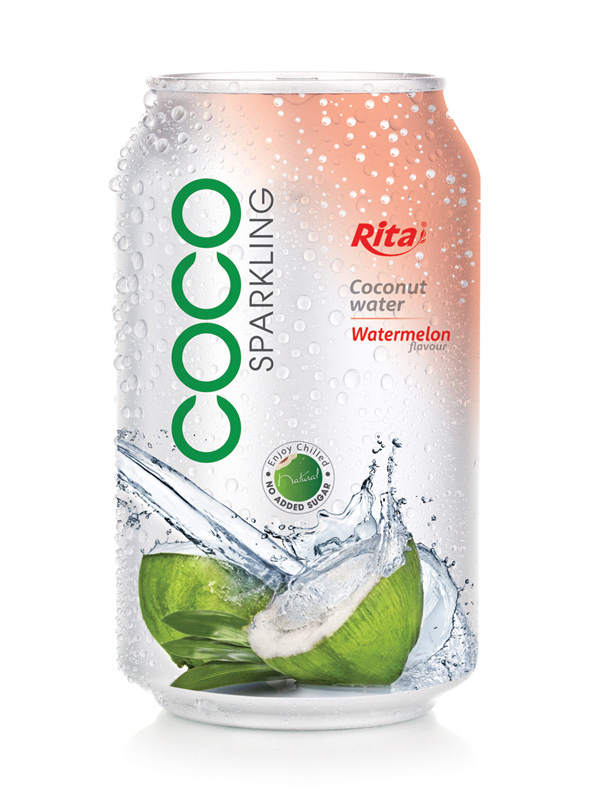 330ml Water melon flavor with Sparking Coconut water ...