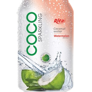 Sparking Coconut water with water melon 330ml