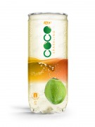 Sparking coconut water with pineapple flavor 250ml Pet can