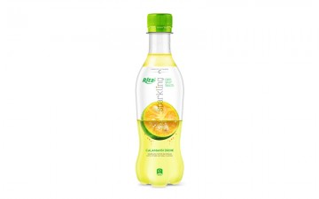 Sparkling fruit calamansi flavor 400ml Pet bottle rita web