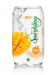 Sparkling mango juice drink 350ml Pet bottle