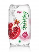 Sparkling pomegranate juice drink 350ml Pet bottle