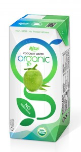 aseptic 200ml Organic Coconut