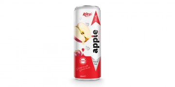 beverage distributors Fruit apple juice 330ml in can