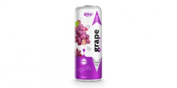 beverage distributors Fruit grape juice 330ml in can