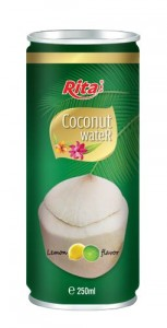coconut water with lemon fla 250 ml