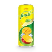 fruit mango juice enrich vitamin C in 320ml can