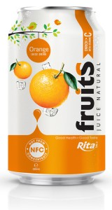 fruit orange juice 330ml