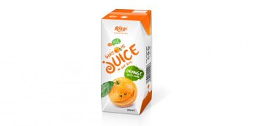 fruit orange juice tetra pak