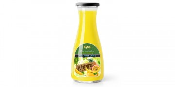 fruits and their vitamins in Mix Fruit juice 1L Glass bottle