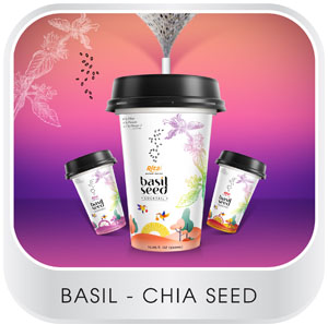 Chia and Basil seed